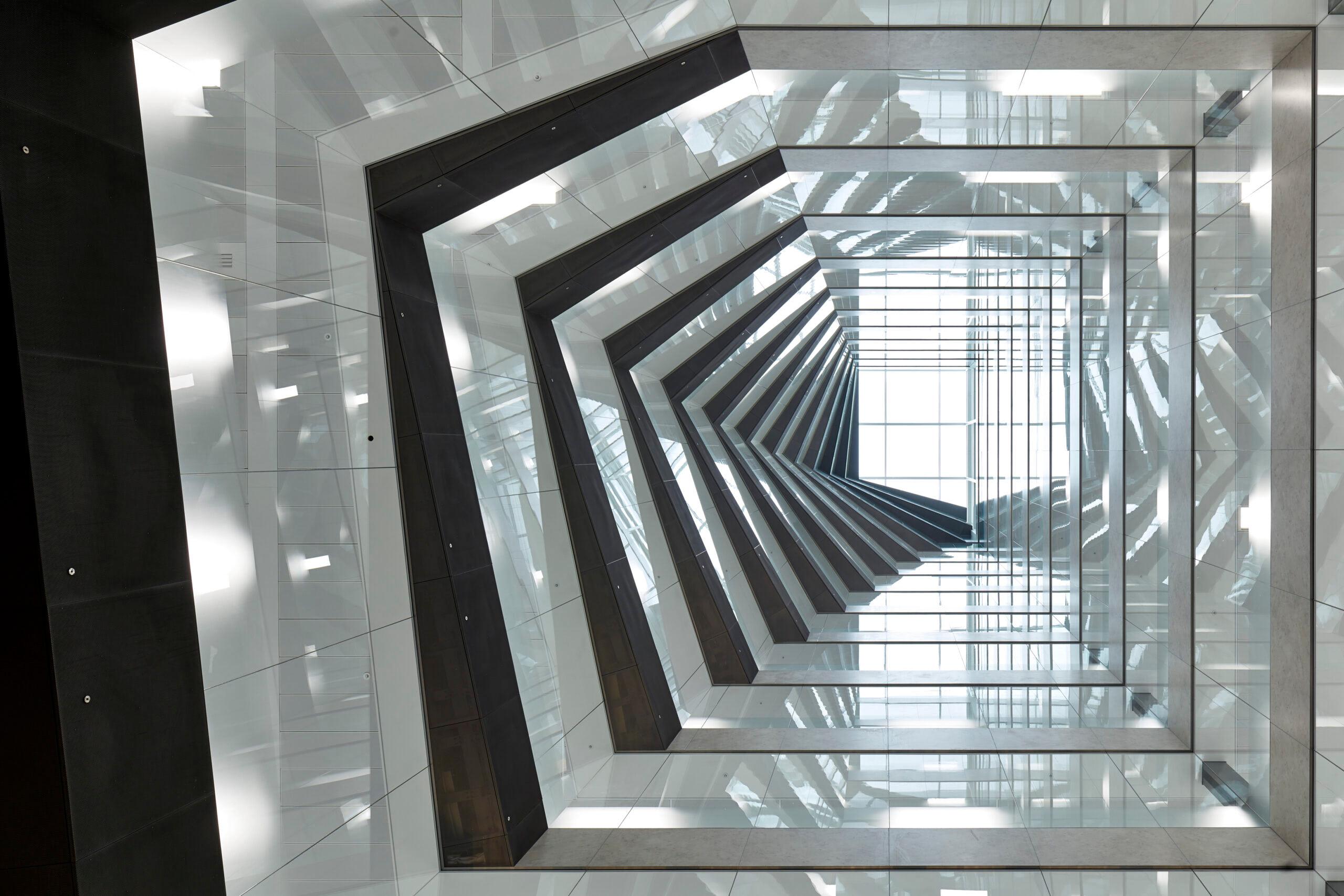 80 Fenchurch Street - Interior Spiral Staircase