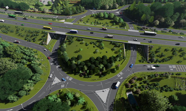 A69 Junction Improvements