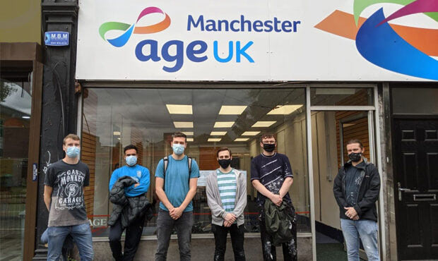 Manchester Office Volunteers at Age UK