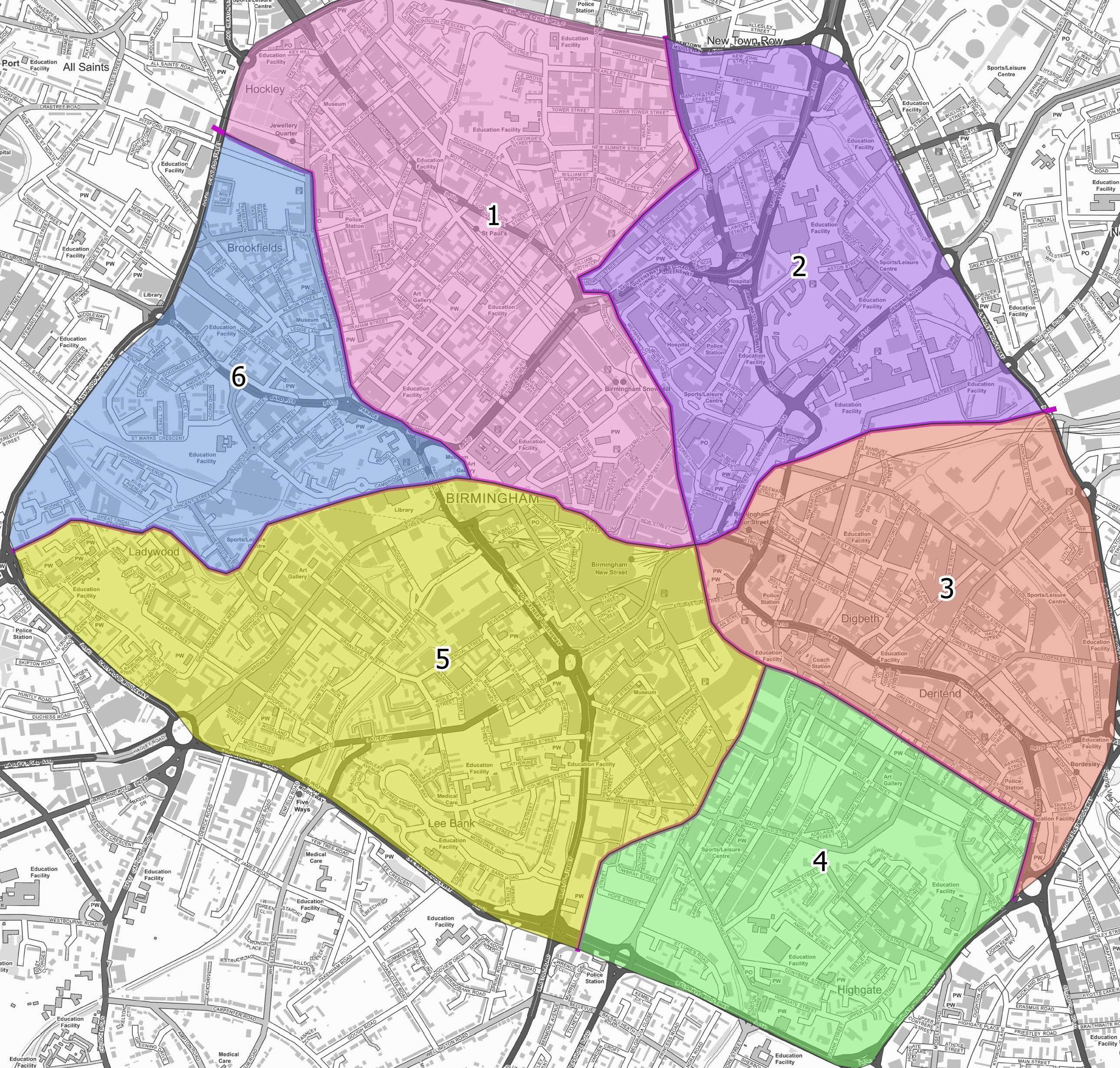 Birmingham Transport Plan