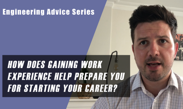 How does work experience prepare you for your career?