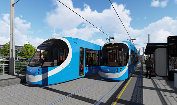 New Fly-through Visualisations of Midland Metro Extension