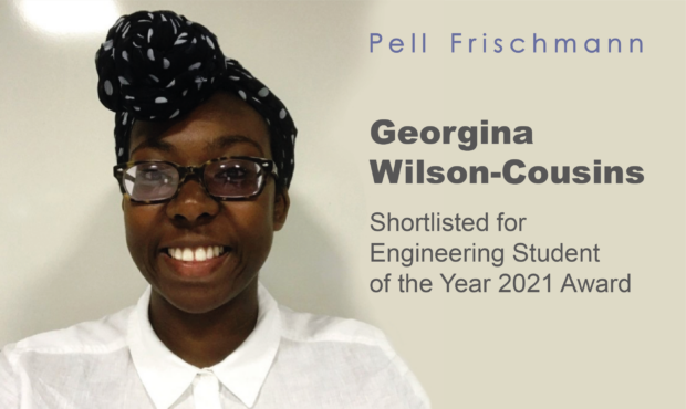 Georgina Wilson-Cousins Shortlisted for Engineering Student of the Year Award