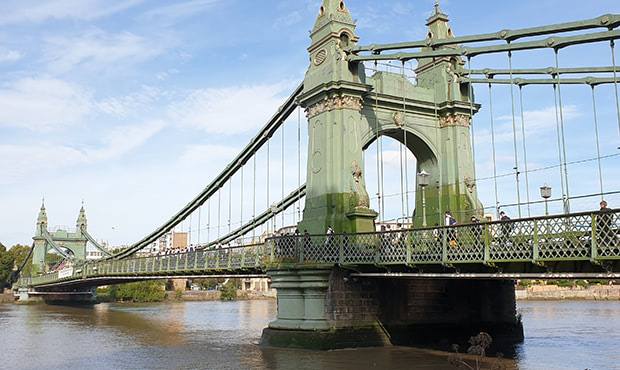 Hammersmith Bridge Refurbishment