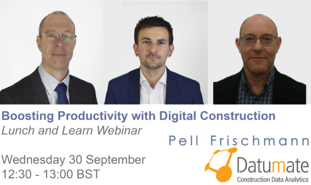 Lunch & Learn Webinar: Boosting Productivity with Digital Construction