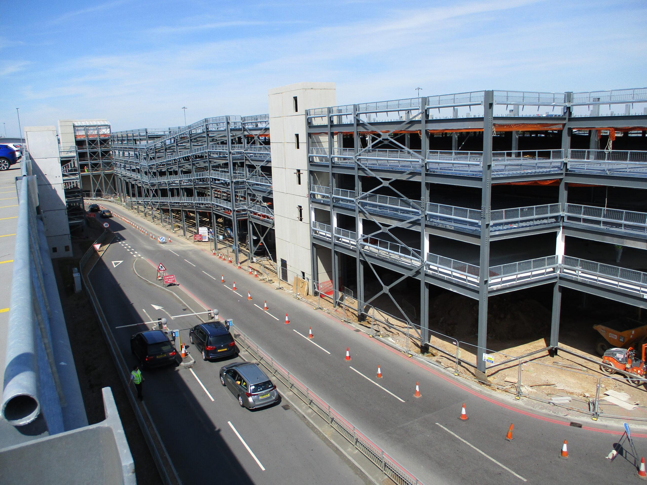 London Luton Airport Carpark