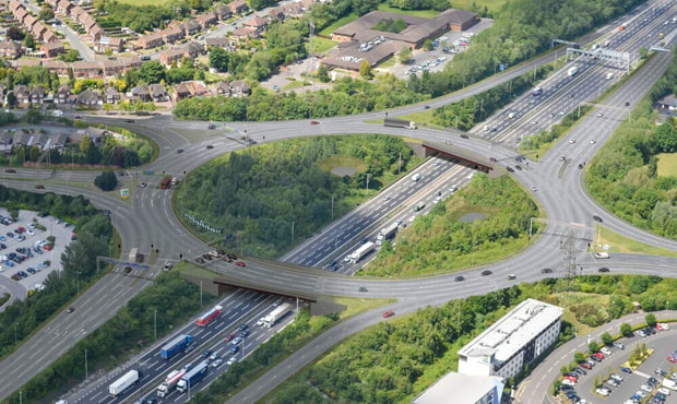 Pell Frischmann Appointed to Deliver M6 Junction 10 Improvements