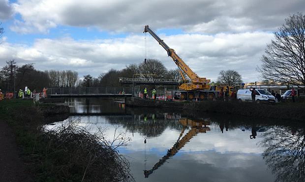 Salmonpool Bridge Refurbishment