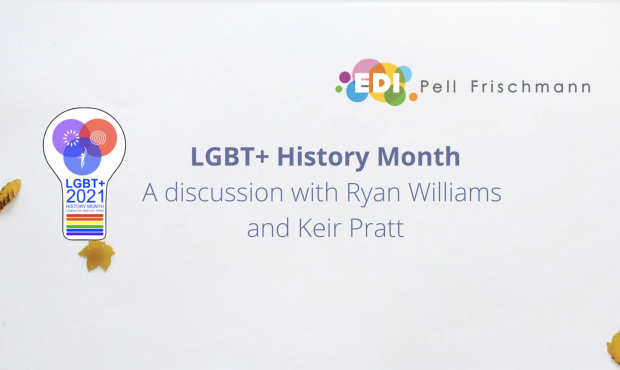 LGBT+ History Month – A discussion with Ryan Williams and Keir Pratt
