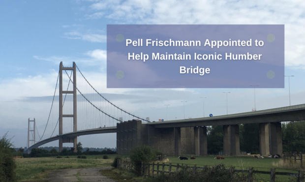 Pell Frischmann Appointed to Help Maintain Iconic Humber Bridge