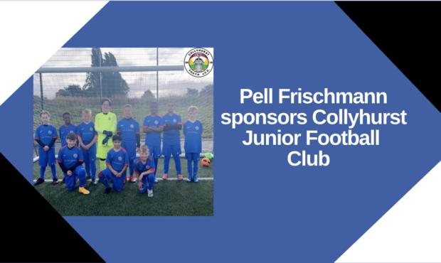 Pell Frischmann sponsors Collyhurst Junior Football Club
